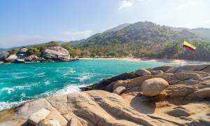 Tayrona NP beach - Colombia - On The Go Tours