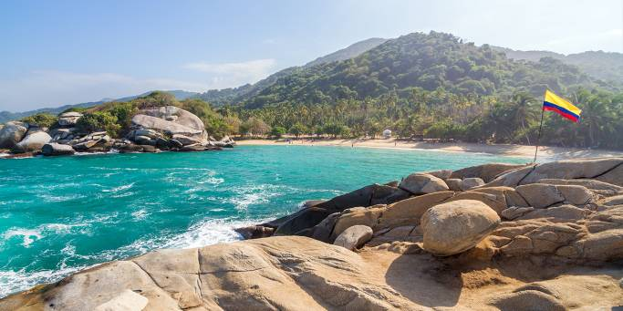 A beach in Tayrona National Park | Colombia | South America