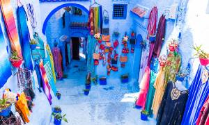 The blue city of Chefchaouen
