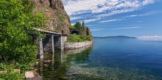 The Circum-Baikal railroad | Trans-siberian Railway