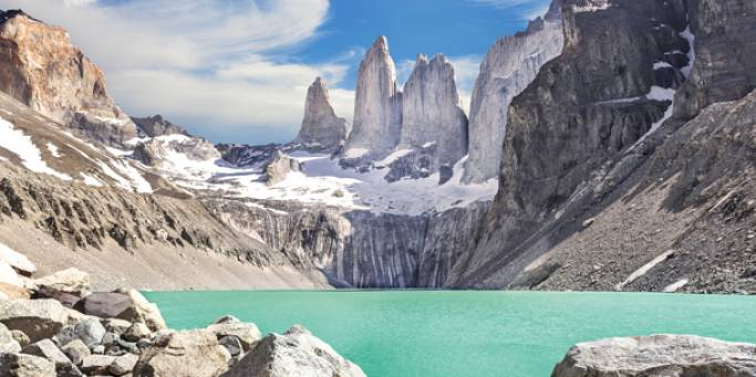 The summer months are the best time to explore Patagonia in South America