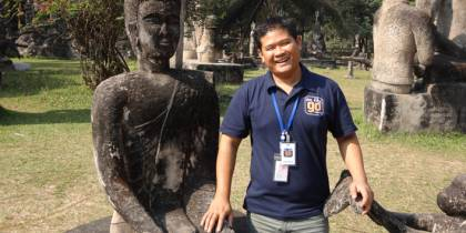 Tour guide in Laos - Tour Leader Awards page - On The Go Tours