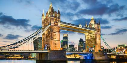 Tower Bridge - Best Places to Visit in the UK - On The Go Tours