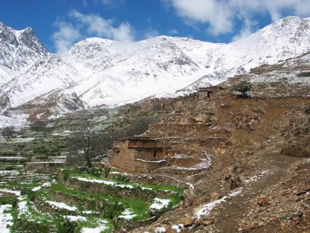 The High Atlas mountain range