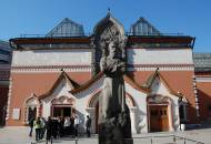 The State Tretyakov Gallery art gallery in Moscow