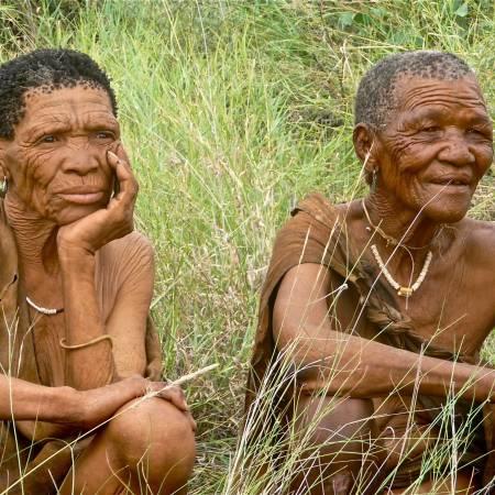 -Tribesman in Botswana