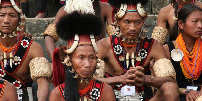 Naga Warriors | Nagaland | India | Photo courtesy: Rajkumar 1220