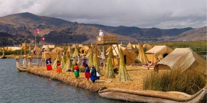 Uros Island Lake Titicaca - South America Tours - On The Go Tours