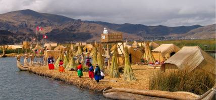 Uros Island Lake Titicaca - South America Tours - On The Go Tours