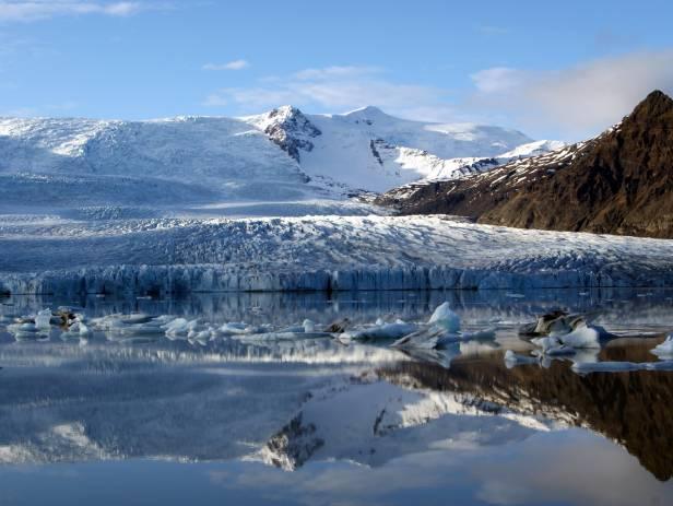 Beautiful view of the Lagarfljot Lake and its surrounding area, near Hallormsstadur