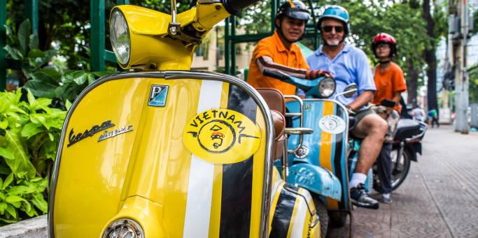 Vespa ride in Saigon | Vietnam | Southeast Asia