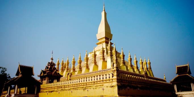 Temple in Vientiene | Laos | Southeast Asia