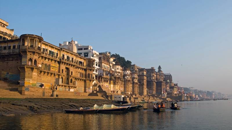Private Full-Day City Tour of Varanasi Including Boat Ride
