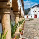 La Candelaria Monastery in Villa de Leyva | Colombia | South America