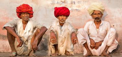 Village elders in Rajasthan