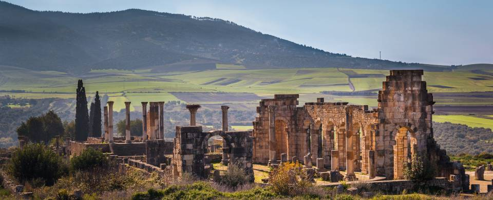 The stunning ancient ruins of Volubilis