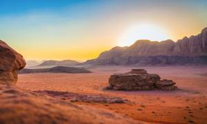 Wadi Rum at sunset - Jordan Tours - On The Go Tours copy