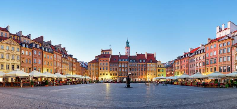 Warsaw day tours and activities in Poland