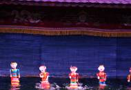 Water puppets show in Hanoi | Vietnam | Southeast Asia