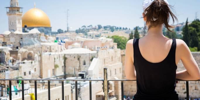 View over Jerusalem's Old City | Israel