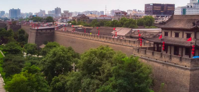 Xian city walls | China