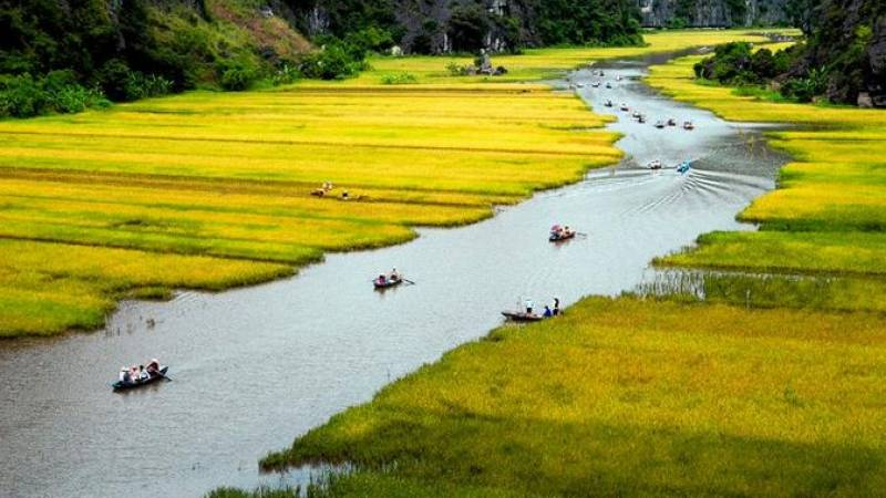 Full-Day Hoa Lu and Tam Coc DELUXE Tour from Hanoi, Including BUFFET Lunch
