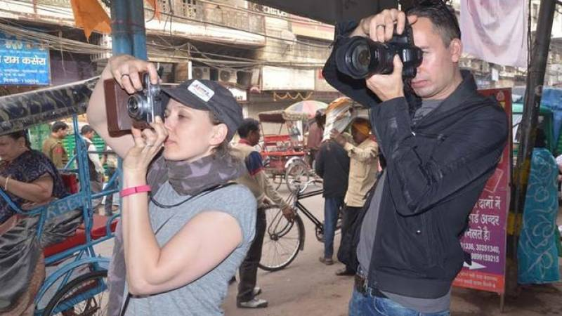 Photo Tour of Old Delhi with Street Food Tasting