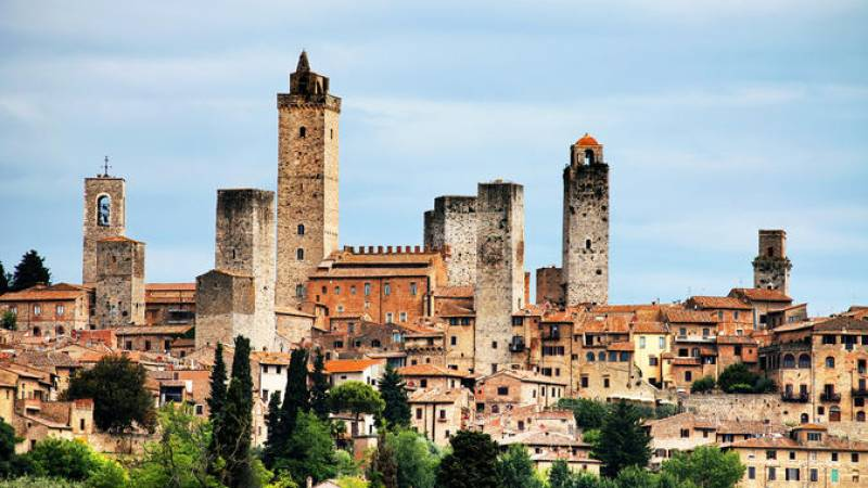 San Gimignano, Siena, Monteriggioni, Chianti Day Trip with Lunch & Wine Tasting