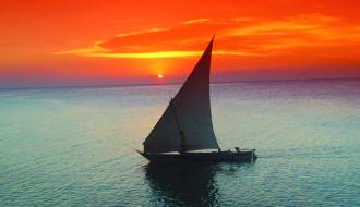 Sailing in a Dhow