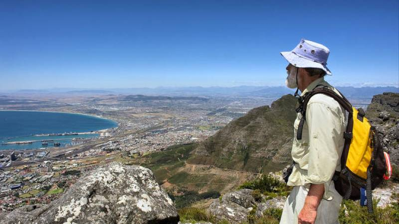 Table Mountain Hike in Cape Town
