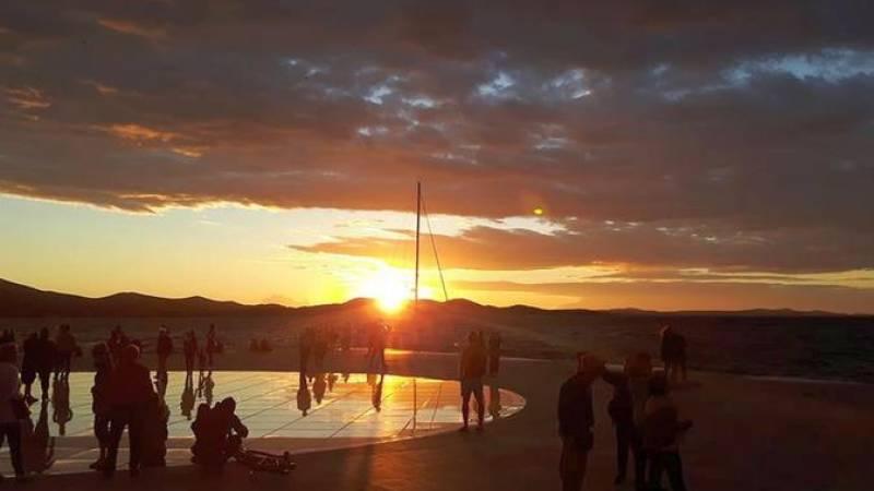 Walking sunset tour Zadar