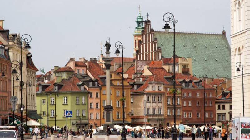 Warsaw Historical group city tour with hotel pickup & drop-off